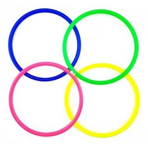 Plastic toss rings