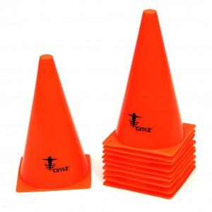 Orange training cones